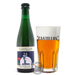 Cantillon Gueuze 5°-37,5CL -V - Geuze Lambic Fruits -
