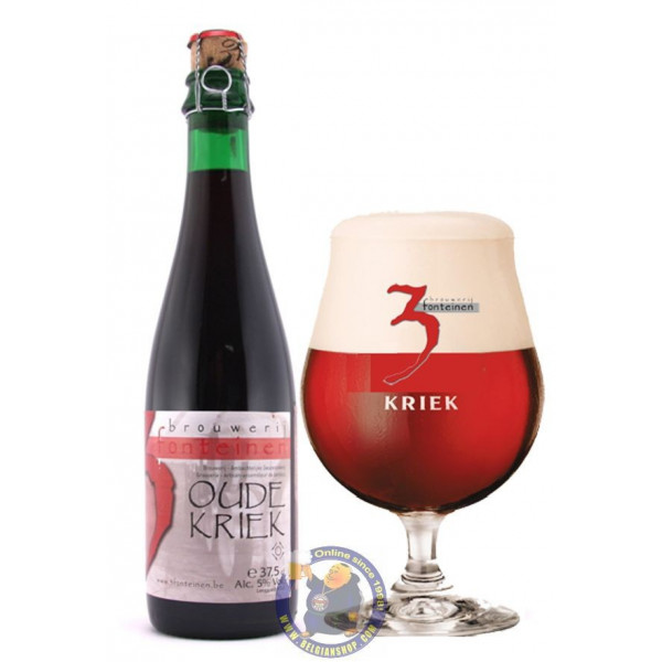 Buy-Achat-Purchase - Drie Fonteinen Oude Kriek 5° - 37,5cl -V - Geuze Lambic Fruits -