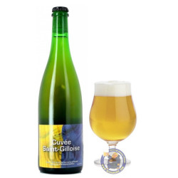 Buy-Achat-Purchase - Cantillon Cuvée Saint-Gilloise 5° - 3/4L - Geuze Lambic Fruits -