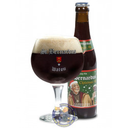 Buy-Achat-Purchase - St Bernardus Christmas Ale 10° - 1/3L - Christmas Beers -