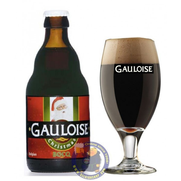 Buy-Achat-Purchase - Gauloise Christmas 8.1° - 1/3L - Christmas Beers -