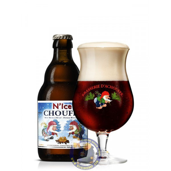 Buy-Achat-Purchase - Chouffe N'Ice 10°- 1/3L - Christmas Beers -