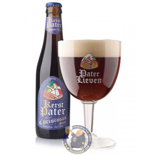 Buy-Achat-Purchase - Pater Lieven Kerst Xmas 9° - 1/3L - Christmas Beers -