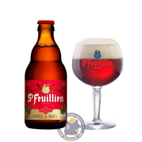 Buy-Achat-Purchase - St Feuillien Cuvee de Noel 9°-1/3L - Abbey beers -