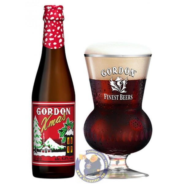 Buy-Achat-Purchase - Gordon Xmas 8.8° - 1/3L - Special beers -
