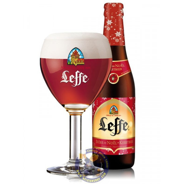 Buy-Achat-Purchase - Leffe de Noël 6,6° - 1/3L - Christmas Beers - Leffe