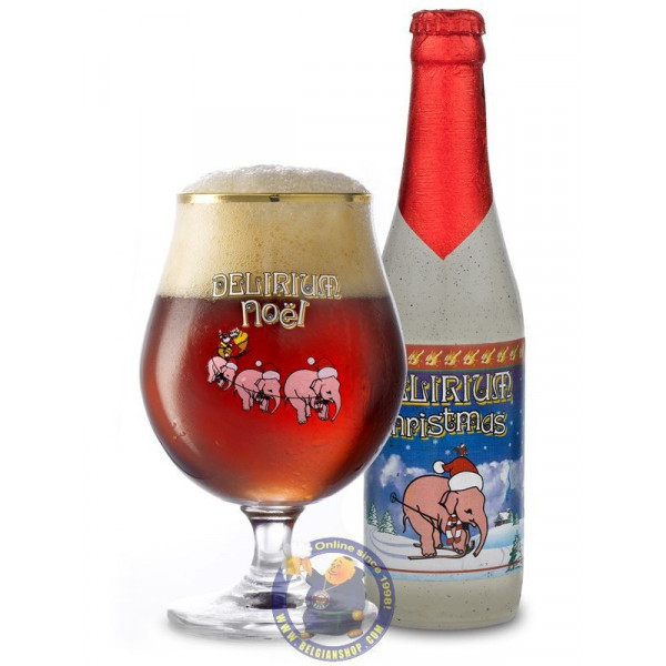 Buy-Achat-Purchase - Delirium Christmas 10° - 1/3L - Special beers -