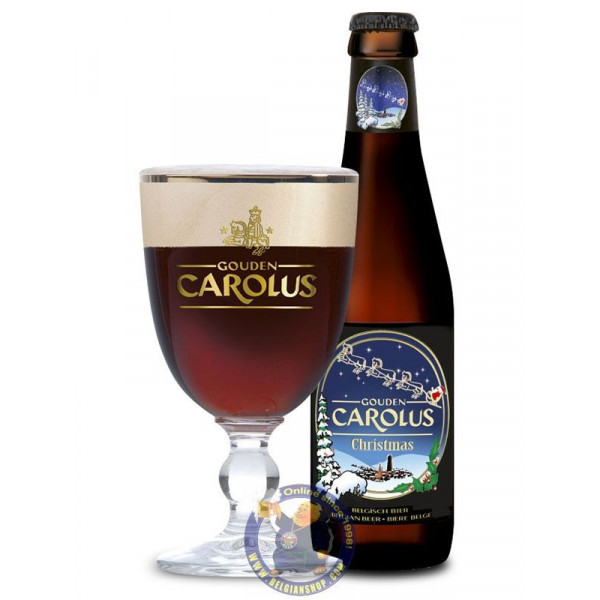 Buy-Achat-Purchase - Gouden Carolus Christmas 10,5° - 1/3L - Christmas Beers -