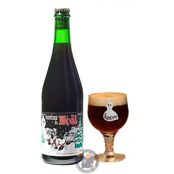 Buy-Achat-Purchase - Fantôme Noël 10° - 3/4L - Christmas Beers -