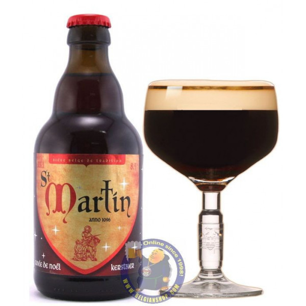 Buy-Achat-Purchase - Abbaye St Martin Cuvée de Noel 8,5° - 1/3L - Abbey beers -