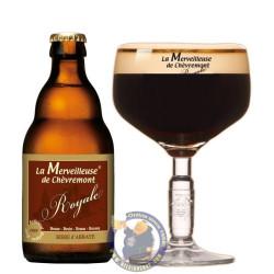 La Merveilleuse de Chevremont Royale 7.5° - 1/3L - Abbey beers -