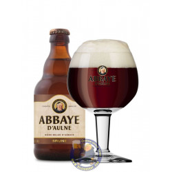 Buy-Achat-Purchase - Abbaye d'Aulne Brown 6° - 1/3L - Abbey beers -