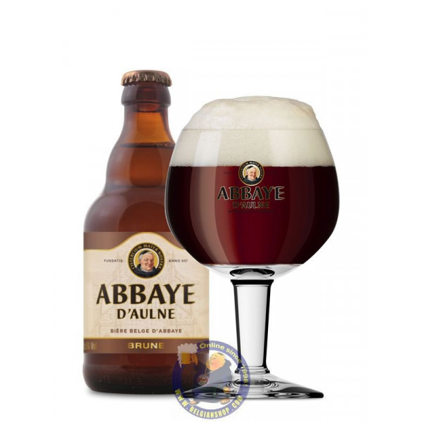 Abbaye d'Aulne Brown 6° - 1/3L - Abbey beers -