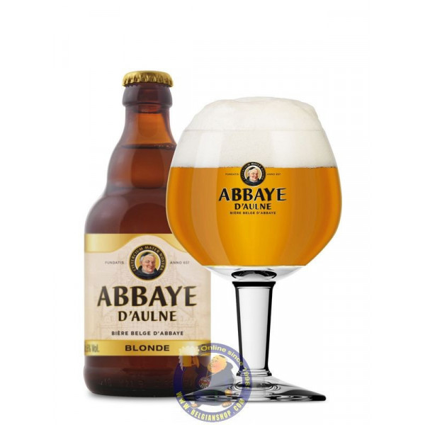 Buy-Achat-Purchase - Abbaye d'Aulne Blond 6° - 1/3L - Abbey beers -