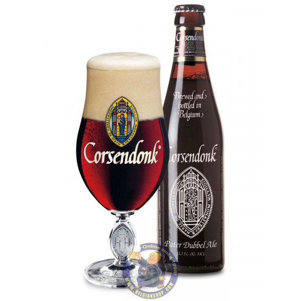 Buy-Achat-Purchase - Corsendonk Pater 7.5°-1/3L - Abbey beers -