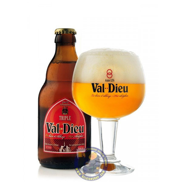 Buy-Achat-Purchase - Val Dieu Triple 9°-1/3L - Abbey beers -