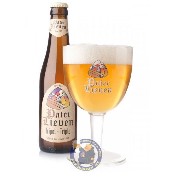 Buy-Achat-Purchase - Pater Lieven Triple 8° - 1/3L - Abbey beers -