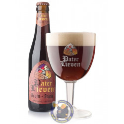 Buy-Achat-Purchase - Pater Lieven Bruin 6,5° - 1/3L - Abbey beers -