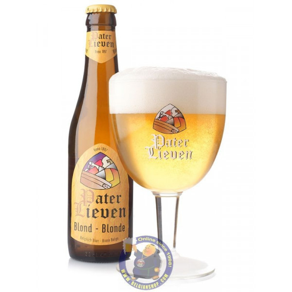 Pater Lieven Blond 6,5° - 1/3L - Abbey beers -