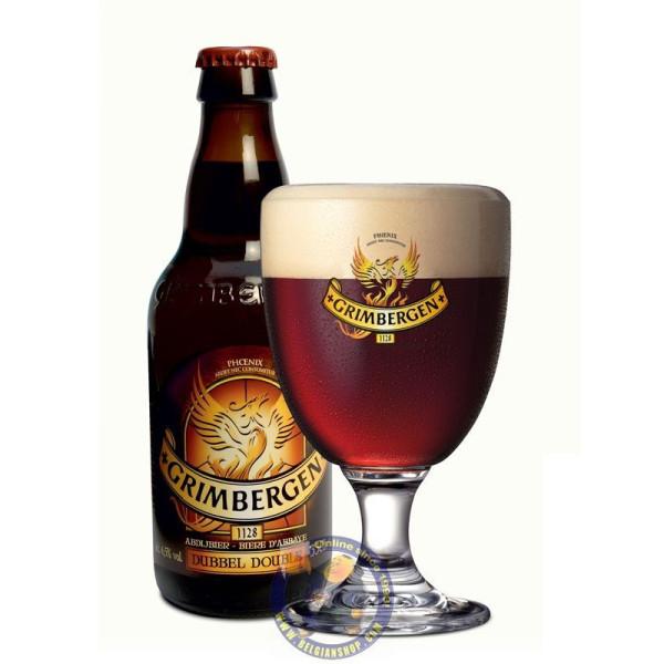 Grimbergen Dubbel 6.5°-1/3L - Abbey beers -