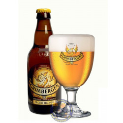 Grimbergen Blond 6.7°-1/3L - Abbey beers -