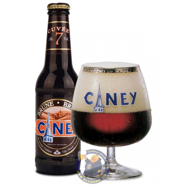 Ciney Bruin 7°-1/4L - Abbey beers -