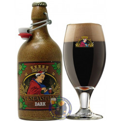 Buy-Achat-Purchase - St Sebastiaan Dark 6.9°-1/2L - Abbey beers -
