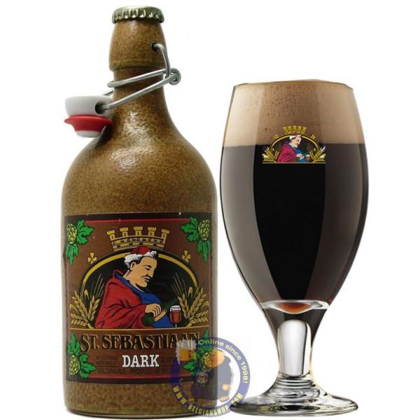 St Sebastiaan Dark 6.9°-1/2L - Abbey beers -