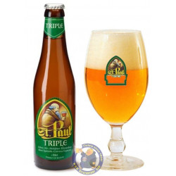 St Paul Triple 7.6°-1/3L - Abbey beers -