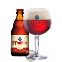 St Feuillien Brune Reserve 8.5°-1/3L - Abbey beers -