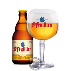 Buy-Achat-Purchase - St Feuillien blond 7.5°-1/3L - Abbey beers -