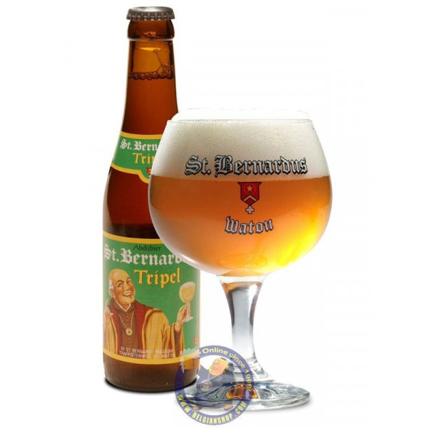 Buy-Achat-Purchase - St Bernardus Triple 8°-1/3L - Abbey beers -