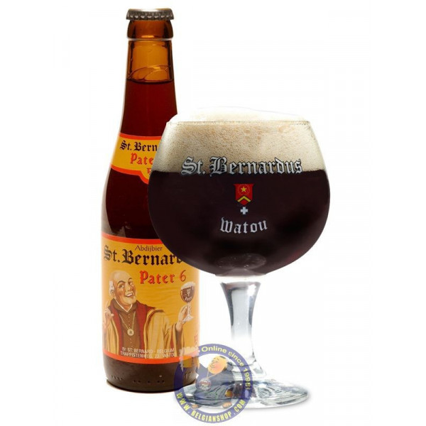 Buy-Achat-Purchase - St Bernardus Pater 6 - 6.7°-1/3L - Abbey beers -