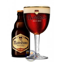 Maredsous Brown 8°-1/3L - Abbey beers -