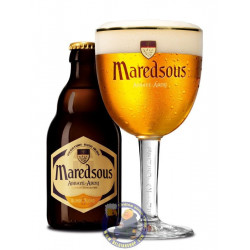 Maredsous Blond 6°-1/3L - Abbey beers -