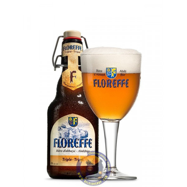 Floreffe Triple 7.5°-1/3L - Abbey beers -