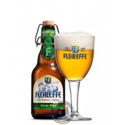 Floreffe blond 6.3°-1/3L - Abbey beers -