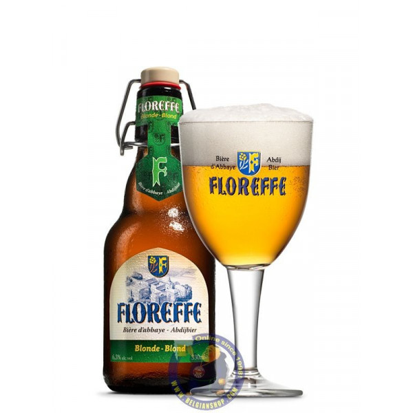 Floreffe blond 6.5°-1/3L - Abbey beers -