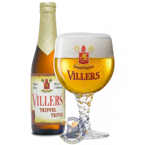 Buy-Achat-Purchase - Villers TriPPle 8.5° - 1/3L - Abbey beers -