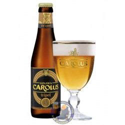 Buy-Achat-Purchase - Gouden Carolus Triple 9° - 33cl - Abbey beers -