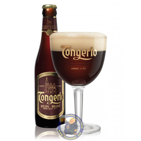Buy-Achat-Purchase - Tongerlo Bruin 6°-1/3L - Abbey beers -