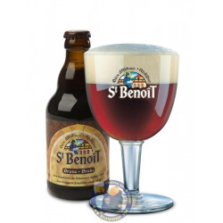 Buy-Achat-Purchase - St Benoît bruin 6.5°-1/3L - Abbey beers -