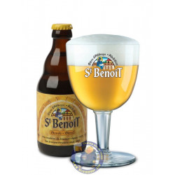 Buy-Achat-Purchase - St Benoît blond 6.5°-1/3L - Abbey beers -