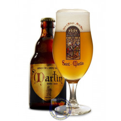 Buy-Achat-Purchase - Abbaye St Martin Blond 7° - 1/3L - Abbey beers -