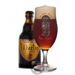 Buy-Achat-Purchase - Abbaye St Martin Bruin Dark 8° - 33cl  - Abbey beers -