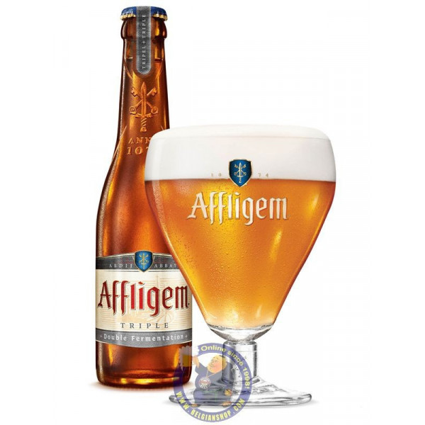 Affligem Triple 9.5°-30cl - Abbey beers -