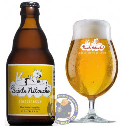 Buy-Achat-Purchase - Sainte Nitouche Blondinette 6% - 1/3L - Special beers -