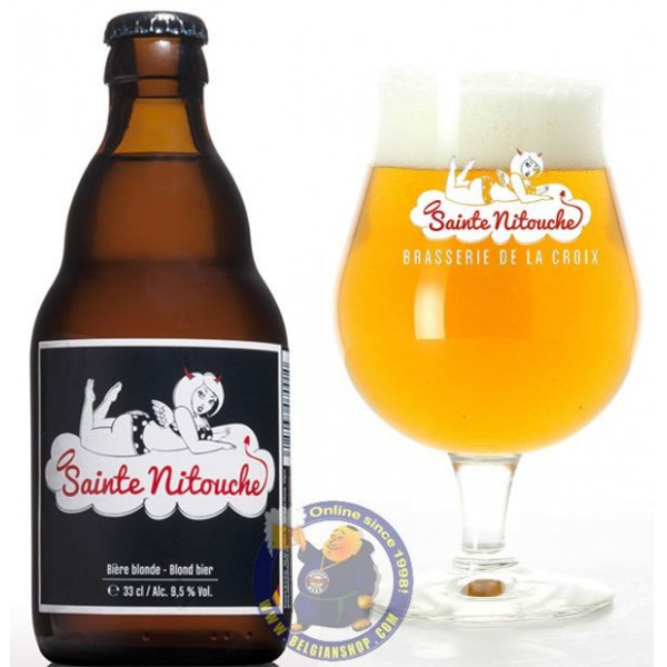 Buy-Achat-Purchase - Sainte Nitouche 9,5° -1/3L - Special beers -