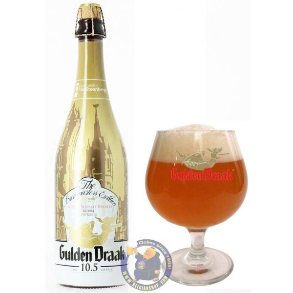 Buy-Achat-Purchase - Gulden Draak The Brewmasters Edition 10,5° - Special beers -
