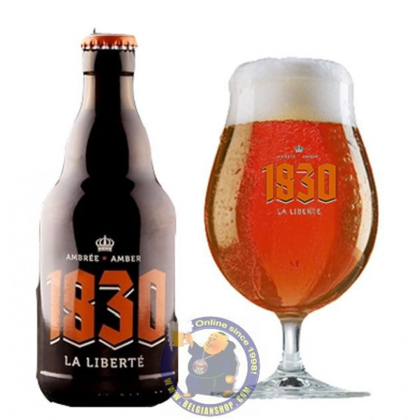 Buy-Achat-Purchase - SCASSENES 1830 LA LIBERTE - Amber 7° - 1/3L - Special beers -